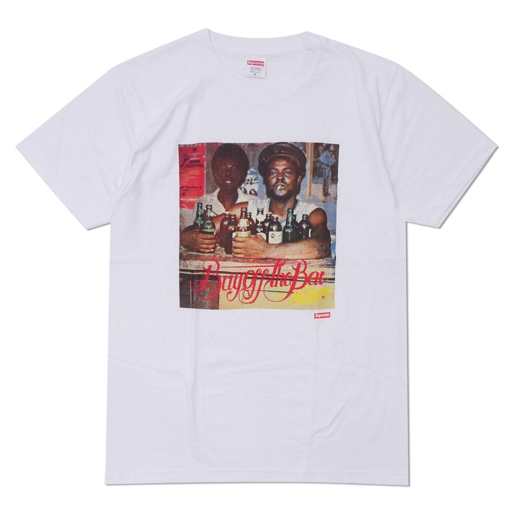 Supreme Limonious Buy Off the Bar Tee White-Urban Necessities