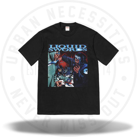 Supreme Liquid Swords Tee Black-Urban Necessities