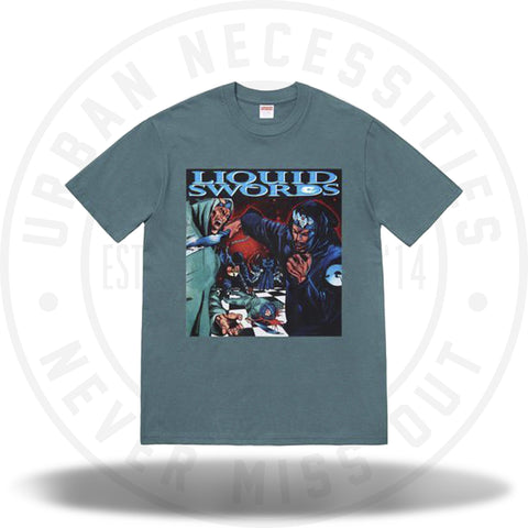 Supreme Liquid Swords Tee Slate-Urban Necessities