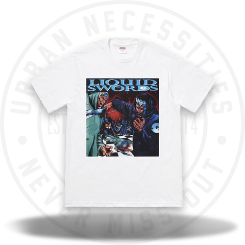 Supreme Liquid Swords Tee White-Urban Necessities
