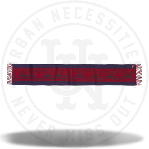 Supreme Logo Repeat Scarf Navy-Urban Necessities