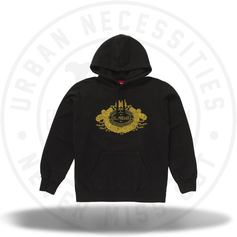 Supreme Love or Hate Hooded Sweatshirt Black-Urban Necessities