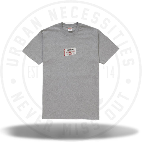 Supreme Luden's Tee Heather Grey-Urban Necessities