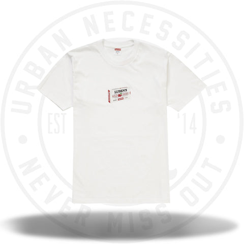 Supreme Luden's Tee White-Urban Necessities