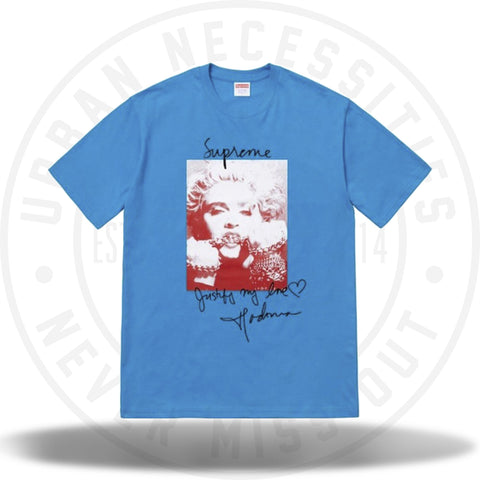 Supreme Madonna Tee Bright Blue-Urban Necessities