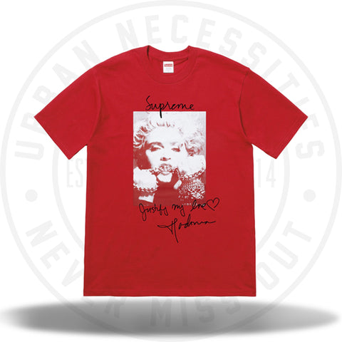 Supreme Madonna Tee Red-Urban Necessities