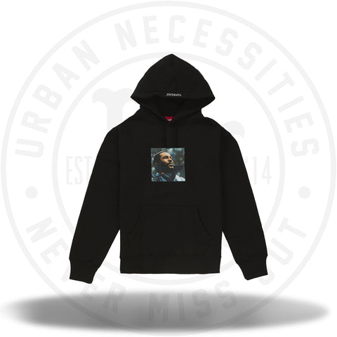 Supreme Marvin Gaye Hooded Sweatshirt Black-Urban Necessities