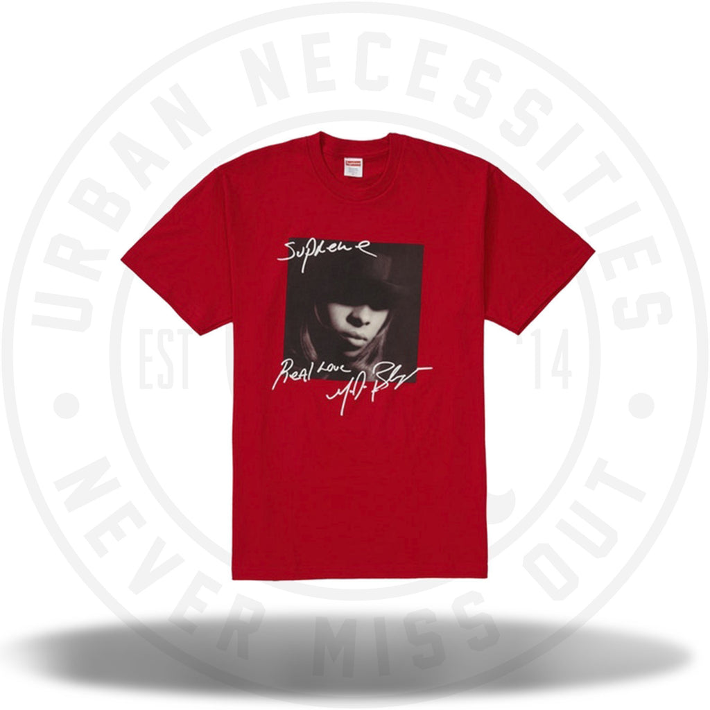 Supreme Mary J. Blige Tee Red-Urban Necessities