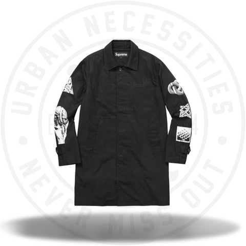 Supreme MC Escher Trench Coat Black-Urban Necessities