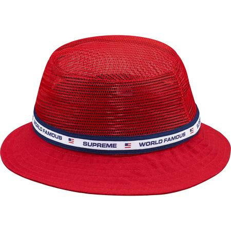 Supreme Mesh Crown Crusher Red-Urban Necessities