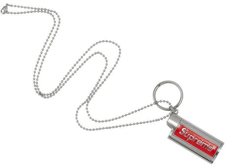 Supreme Metal Lighter Holster Silver-Urban Necessities