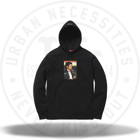 Supreme Michael Jackson Hooded Sweatshirt Black-Urban Necessities