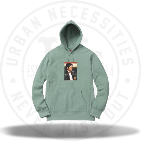 Supreme Michael Jackson Hooded Sweatshirt Seafoam-Urban Necessities