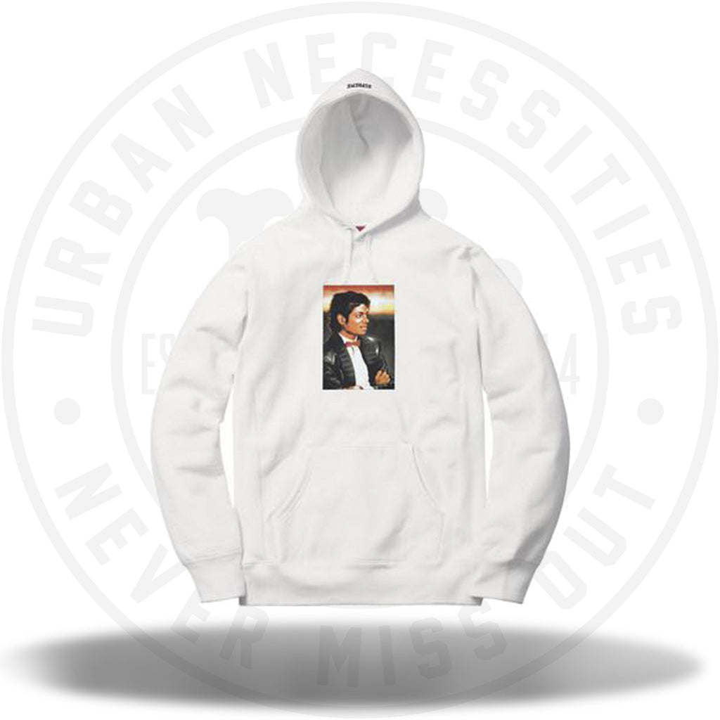 Supreme Michael Jackson Hooded Sweatshirt White-Urban Necessities