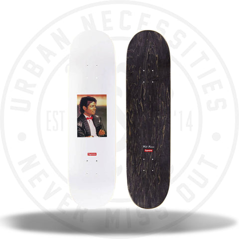 Supreme Michael Jackson Skate Deck White-Urban Necessities