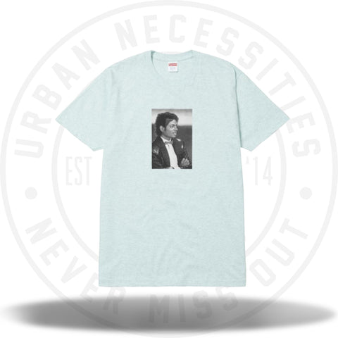 Supreme Michael Jackson Tee Heather Turquoise-Urban Necessities