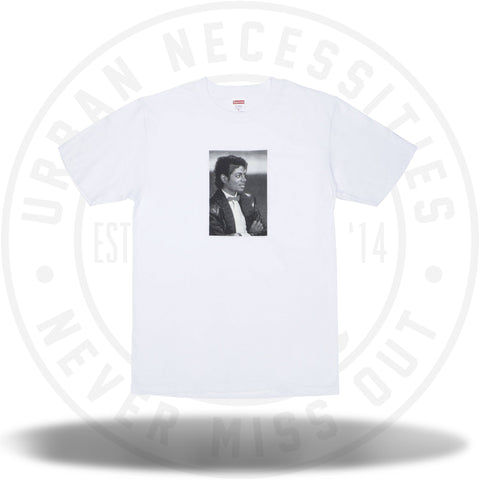 Supreme Michael Jackson Tee White-Urban Necessities
