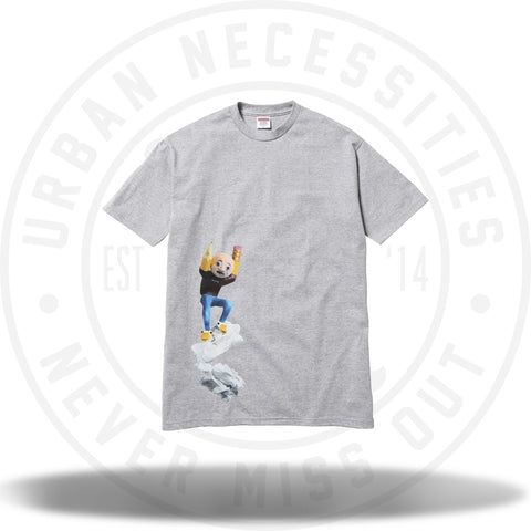 Supreme Mike Hill Regretter Tee Heather Grey-Urban Necessities