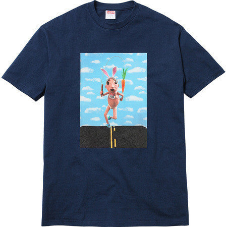 Supreme Mike Hill Runner Tee Navy-Urban Necessities
