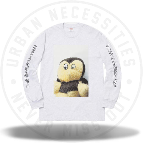 Supreme Mike Kelley AhhYouth! L/S Tee Ash Grey-Urban Necessities