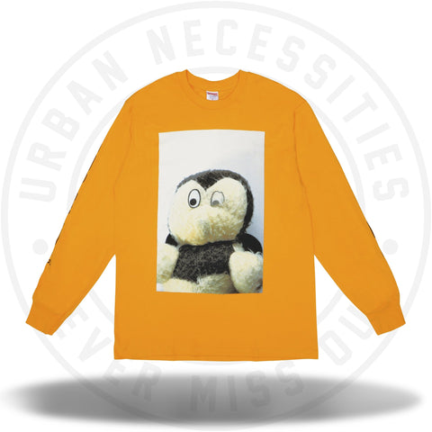 Supreme Mike Kelley AhhYouth! L/S Tee Bright Orange-Urban Necessities