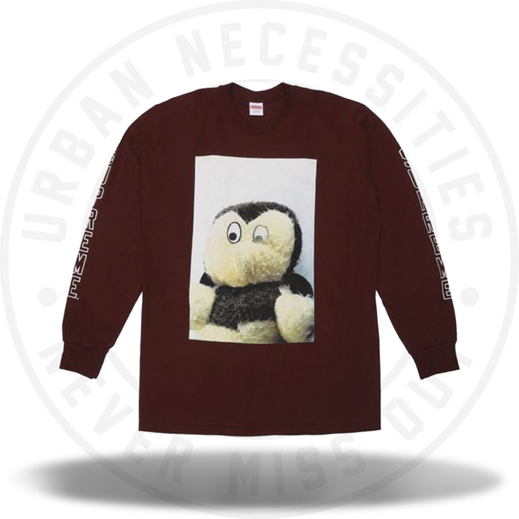 Supreme Mike Kelley AhhYouth! L/S Tee Burgundy-Urban Necessities