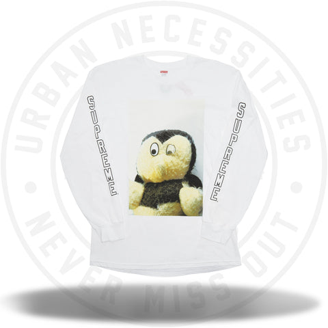 Supreme Mike Kelley AhhYouth! L/S Tee White-Urban Necessities