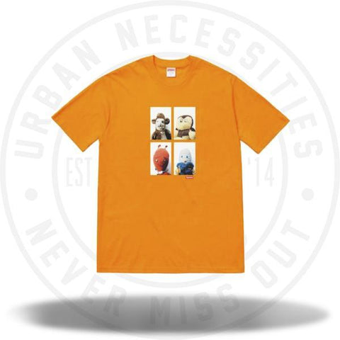Supreme Mike Kelley AhhYouth! Tee Bright Orange-Urban Necessities
