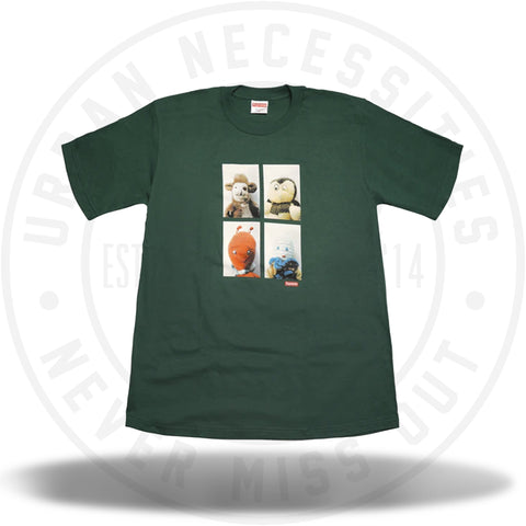 Supreme Mike Kelley AhhYouth! Tee Dark Green-Urban Necessities