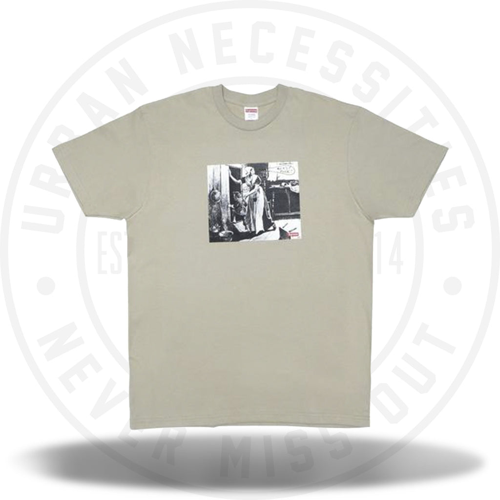 Supreme Mike Kelley Hiding From Indians Tee Clay-Urban Necessities