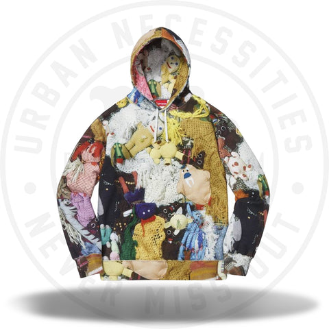 Supreme Mike Kelley More Love Hours Than Can Ever Be Repaid Hooded Sweatshirt Multicolor-Urban Necessities
