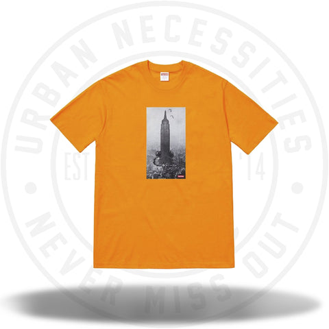 Supreme Mike Kelley The Empire State Building Tee Bright Orange-Urban Necessities