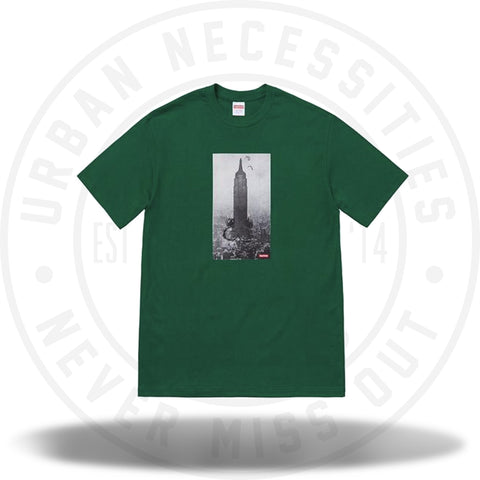 Supreme Mike Kelley The Empire State Building Tee Dark Green-Urban Necessities