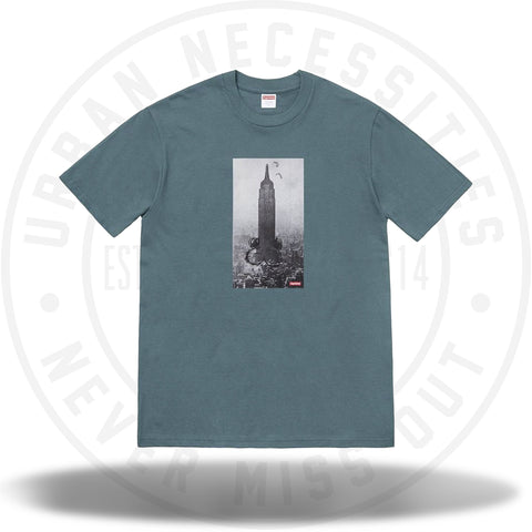Supreme Mike Kelley The Empire State Building Tee Slate-Urban Necessities