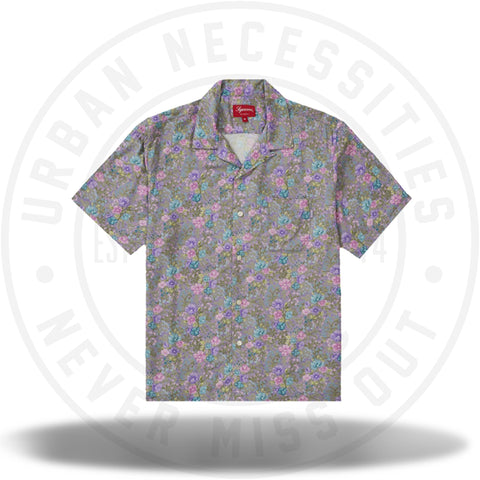 Supreme Mini Floral Rayon S/S Shirt Dusty Purple-Urban Necessities