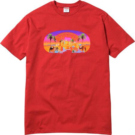 Supreme Mirage Tee Red-Urban Necessities