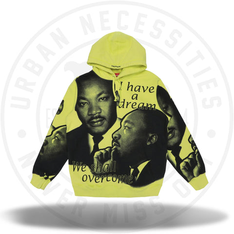 Supreme MLK Hooded Sweatshirt Lemon-Urban Necessities