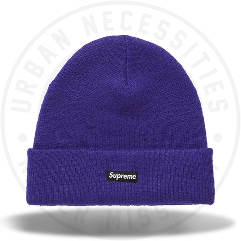 Supreme Mohair Beanie (FW18) Purple-Urban Necessities