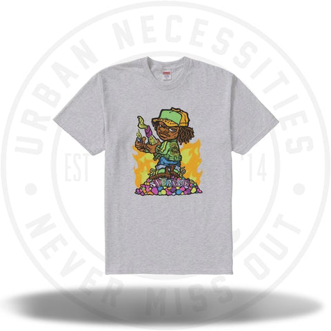 Supreme Molotov Kid Tee Ash Grey-Urban Necessities