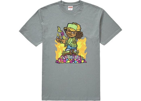 Supreme Molotov Kid Tee Dark Sage-Urban Necessities