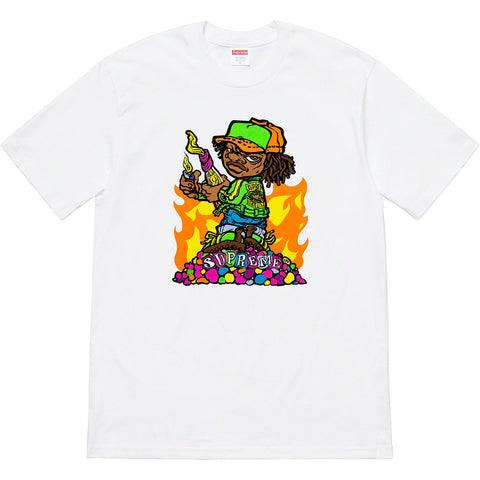 Supreme Molotov Kid Tee White-Urban Necessities