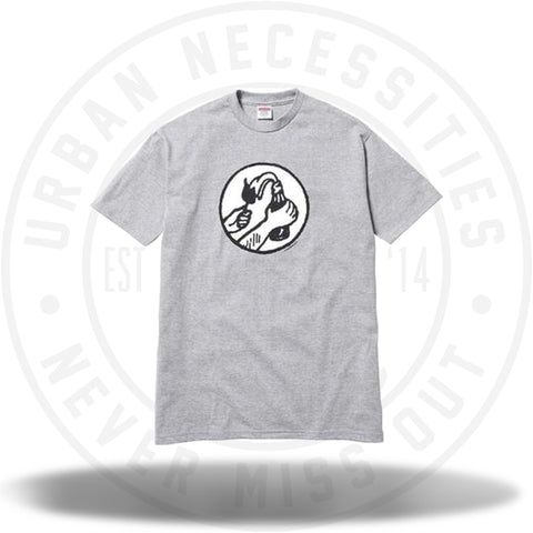 Supreme Molotov Tee Heather Grey-Urban Necessities