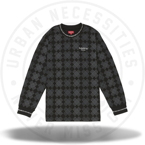 Supreme Motif L/S Top Black-Urban Necessities