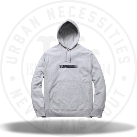 Supreme Motion Logo Hooded Sweatshirt Heather Grey-Urban Necessities