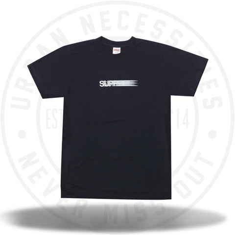Supreme Motion Logo Tee Navy-Urban Necessities