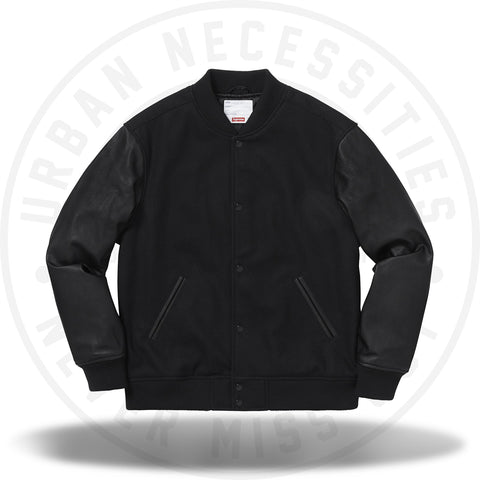 Supreme Motion Logo Varsity Jacket Black-Urban Necessities