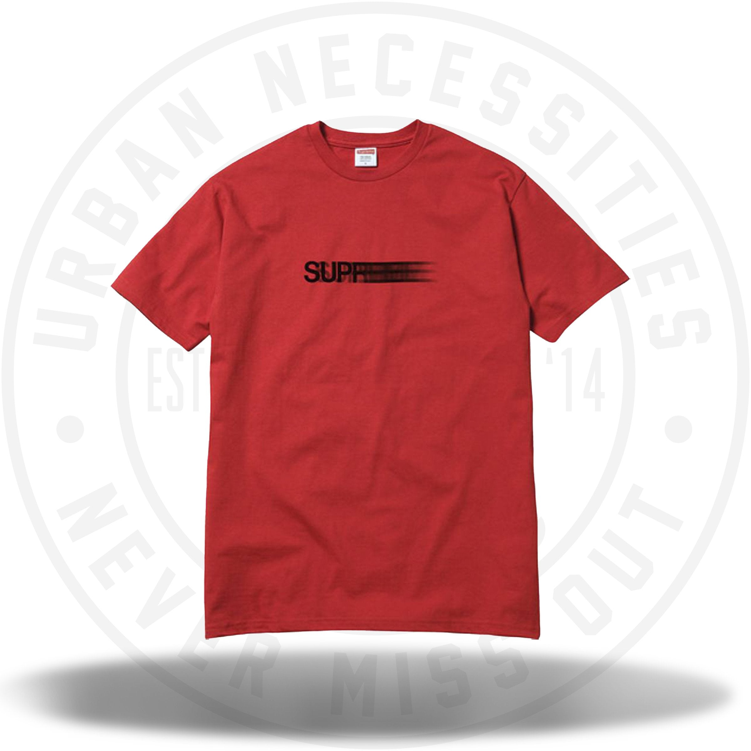 Supreme Motion Tee Red