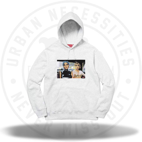 Supreme Nan Goldin Misty and Jimmy Paulette Hooded Sweatshirt Ash Grey-Urban Necessities