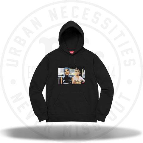 Supreme Nan Goldin Misty and Jimmy Paulette Hooded Sweatshirt Black-Urban Necessities