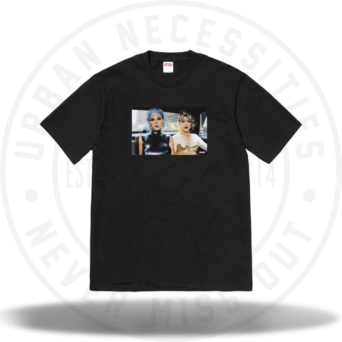 Supreme Nan Goldin Misty and Jimmy Paulette Tee Black-Urban Necessities